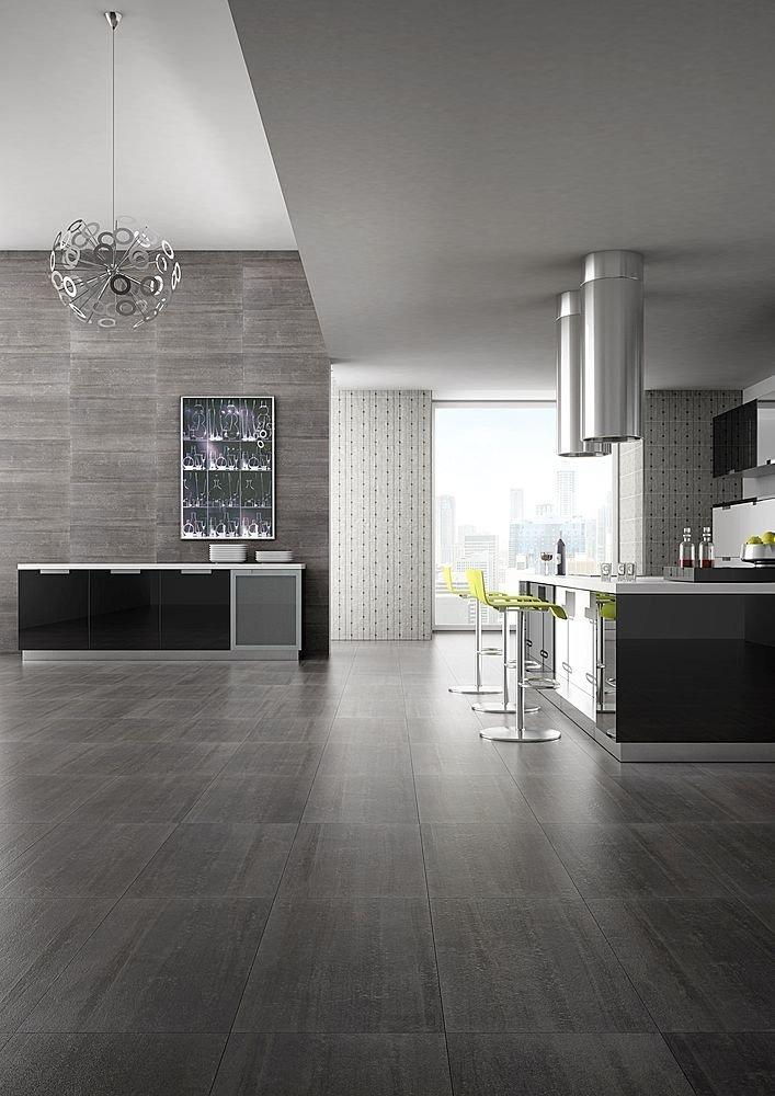 Pavimenti cucina moderna resistenti lucidi ceramica - Pavimento per cucina ...