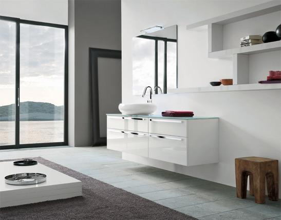 Bagno moderno: mobili complementi accessori illuminazione