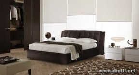 Camera da letto moderna letto mobili complementi di for Complementi arredo camera da letto