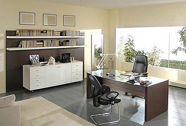 Arredamento moderno per ufficio mobili librerie for Scrivanie ufficio moderne