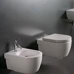 Water e bidet bagno moderno sanitari di piccole - Dimensioni water piccolo ...
