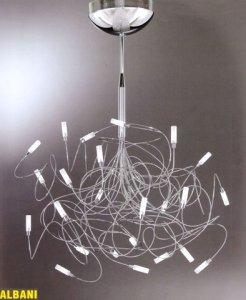 Lampadari moderni: a sospensione, design, applique