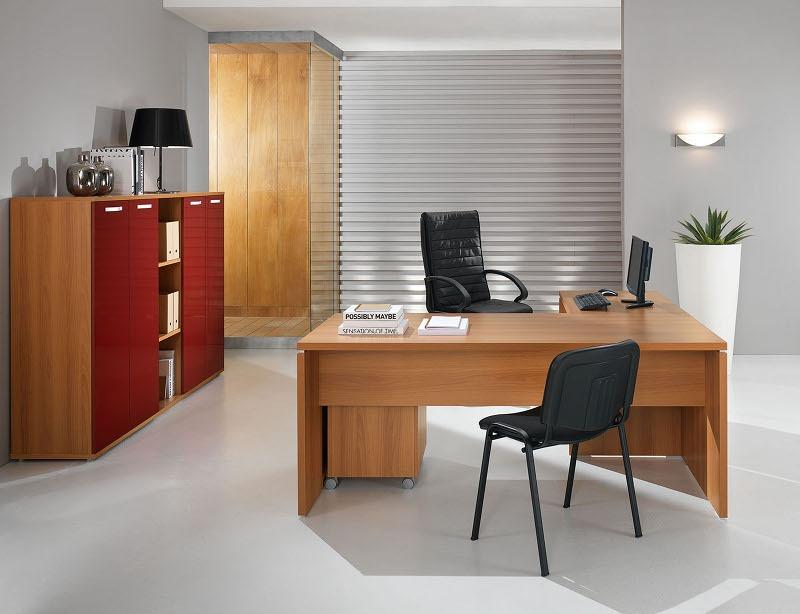 Mobili per ufficio moderno funzionali minimali linee for Mobili ufficio moderni