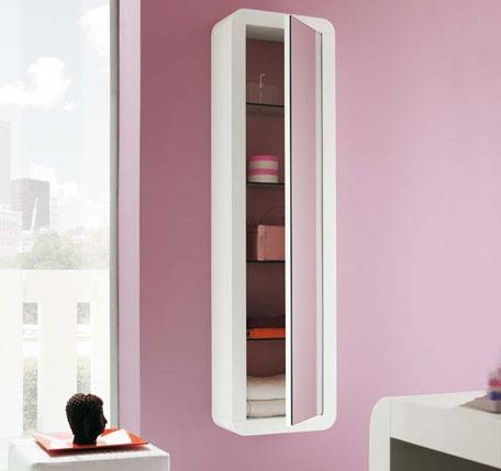 Pareti bagno moderno piastrelle bianche o colorate - Decorazioni pareti bagno ...